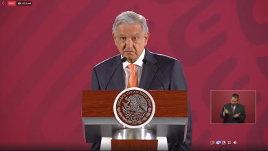 Conferencia, Gasolina AMLO