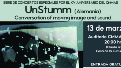 "Concierto ""Conversation of moving image and sound"""